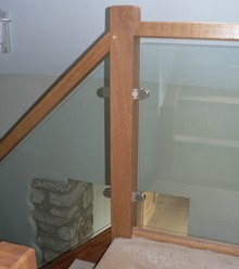 Glass Balustrade for Staircases