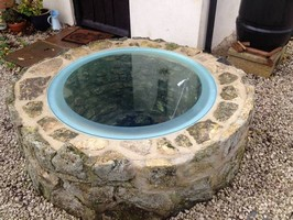 Well Covers Make A Feature Of Your Well Oxfordshire Glass